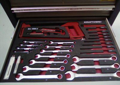Contenue tiroir 2 - Servante d'atelier